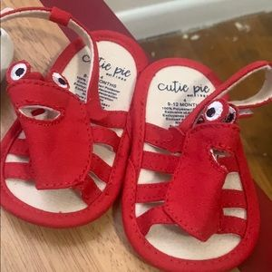 Brand new Crab sandals